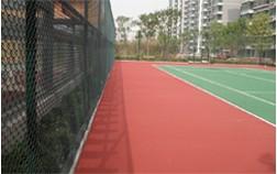 南阳卧龙官邸小区网球场